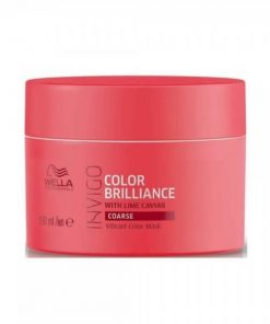 Wella Color Brilliance Mask for Coarse Hair, Wella Color Brilliance, Wella, Μαλλιά, Μάσκες Μαλλιών, Θεραπείες
