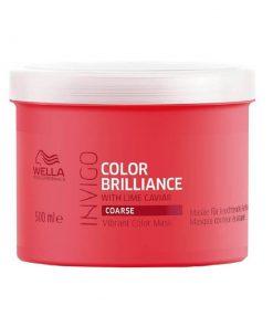 Wella Color Brilliance Mask for Coarse Hair, Wella Color Brilliance, Wella, Μαλλιά, Μάσκες Μαλλιών, Θεραπείες