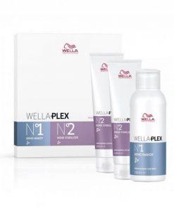 Wella WELLAPLEX Travel Kit No1 100ml and No2,Wella WELLAPLEX, Wella, Μαλλιά, Θεραπείες