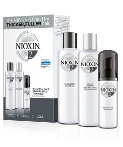 Wella NIOXIN Kit 2 - Shampoo 300ml, Conditioner 300ml and Treatment 100ml