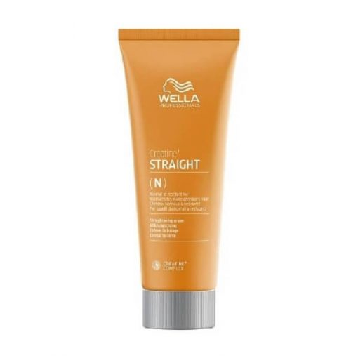 Wella Creatine+ Staight - Straightening Cream for Normal to Resistant Hair, Wella Creatine+ Staigh, Wella, Styling, Μαλλιά